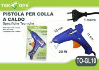 Pistola Colla A Caldo TeKone TO-GL10 20W Piccole Dimensioni Per Stick 7mm hsb