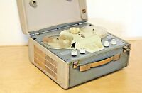 Philips EL 3527 Reel-to-Reel Vintage Tape Deck (1958) Tube Portable