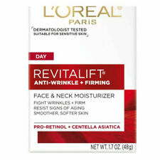 L'Oreal Revitalift Face & Neck Anti-Wrinkle & Firming Moisturizer 1.7 oz