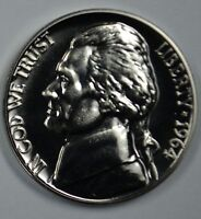 1964 Proof Jefferson Nickel Full Steps Nice Coins Priced Right Shipped FREE