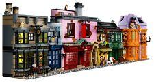 Bausteine Winkelgasse Diagon Alley 20007 DIY Spielzeug 5544PCS Geschenk Modell-Q
