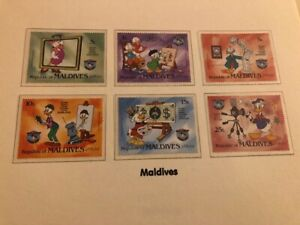 Disney World of Postage Stamps - The Storey of Donald Duck