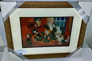 Disney Cel 101 Dalmatians Home At Last Rare Animation Art Limited Edition Cell