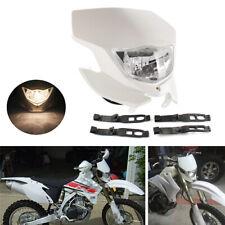 White Dirt Bike Motorcycle Headlight For Yamaha WR450F WR250F YZ YZF TW TTR DR