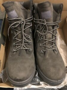 timberland field boots 6 inch GRAY