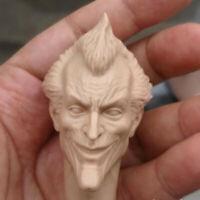"Blank Hot 1/6 Scale Batman Arkham knight clown Head Sculpt Unpainted Fit 12"""
