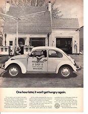 1971 VW VOLKSWAGEN BEETLE ~ ORIGINAL PRINT AD