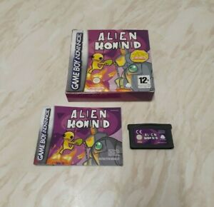 Alien Hominid (GBA) Nintendo Game Boy Advance - Box / Game / Manual