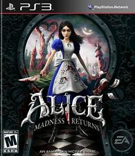 ALICE MADNESS RETURNS -NEW PLAYSTATION 3 Sony PS3 GAME