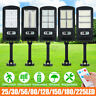 1000W LED Solar Street Light Outdoor Garden Wall Lamp PIR Motion Sensor Remote