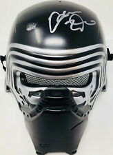 Kylo Ren Adam Driver Signed Star Wars Movie Mask Helmet - Beckett BAS COA