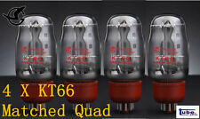 4pc Shuguang KT66 Matched Quad Vacuum Tube tested by AT1000