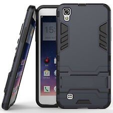 LG X Power Case Slim Hybrid Kickstand Cover Case for LG X Power -Navy Grey
