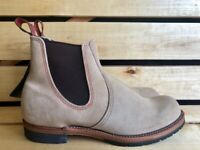 Red Wing Shoes 2919 Suede Chelsea Boots Made in Usa Size US8 12D UK7 12 EUR41