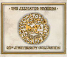 THE ALLIGATOR RECORDS - 20TH ANNIVERSARY COLLECTION - DOPPEL-CD - SWITZERLAND