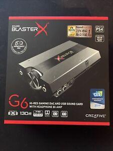 Creative BlasterX G6 Soundkarte