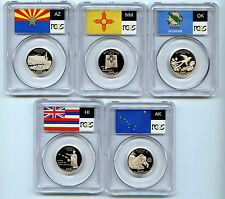 2008 S 5 Silver State Quarter PCGS PR69 Graded Proof Coin 25 Cent Set