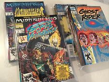 Midnight Sons lot of 65 issues Ghost Rider Nightstalkers Morbius Darkhold Blaze