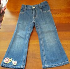 GYMBOREE GIRL'S JEANS WITH ADJUSTABLE WAIST...SIZE 2T***EXCELLENT CONDITION***