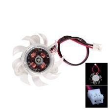 ventilador de refrigeración para pc computer 35mm de plástico tarjeta gráfica vg