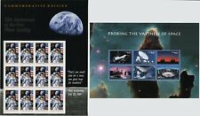 USA #2841 #3409 SPACE Souvenir Sheets Stamps Postage Collection Mint NH