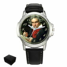LUDWIG VAN BEETHOVEN COMPOSER GENTS MENS WRIST WATCH GIFT ENGRAVING