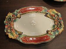 """Fitz & Floyd Holiday Solstice 19"""" Oval Platter"""