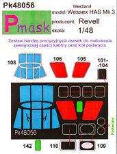 Wessex è mk.3 dipinto Maschera per ICM REVELL #48056 1/48 pmask