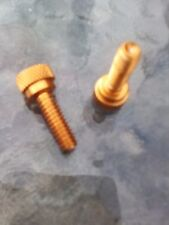 1/4 unc x 3/4 ANODIZED ALUMINIUM THUMB SCREWS BOLTS