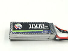 MOS 3S lipo battery 11.1v 1800mAh 25C rc helicopter EC5 XT90 JST T-PLUF XT-60