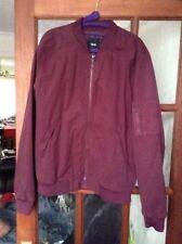 Zip Cotton Bomber, Harrington ASOS Coats & Jackets for Men