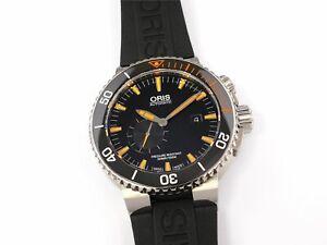 Oris Aquis Carlos Coste IV Limited Edition Black 01 743 7709 7184-Set RS Rubber