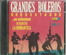 Grandes Boleros Orquestados En Intimidad Orquesta La Romantica Latin Music CD