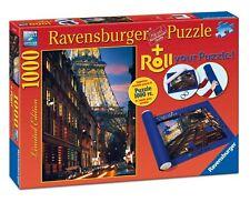 Ravensburger 1000 Piece Puzzle Paris Plus Roll Your Puzzle Mat RB19912-9 New