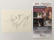 Keenan Wynn Signed Autographed 3x4 Cut JSA Certified