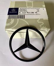 Mercedes CLA W117 Rear Boot Lid Badge Emblem Star - Gloss Black A1178170016