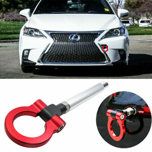 JDM Racing Style Red Aluminum Tow Hook For Lexus IS 2006-up CT 2011-up RC 2015+