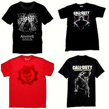 Mens' Short Sleeve T-Shirts Call of Duty  Gears of War  Assassin's Creed  NWT