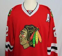 Duncan Keith #2 Chicago Blackhawks NHL Jersey Mens 50 CCM Sewn Alternate Red