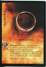 Lord Of The Rings CCG Card RotK 7.C1 The One Ring, The Ruling Ring