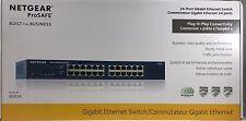 NETGEAR - JGS524NA - ProSAFE 24-Port Gigabit Rackmount Switch 10/100/1000 Mbps