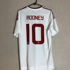 ROONEY #10 Manchester United Away Euro Medium Football Shirt Jersey 2015/16 BNWT