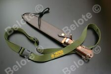 KANETSUNE Obi Sling Olive OD, Easy Way To Carry Heavy Fixed Blade Knives KB-303