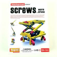 Engino Mechanical Screws Science Building Kit - Educational/STEM Toy