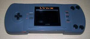 Atari Lynx MK1 Handheld games console + Game & NEW Perspex Screen & Re-capped