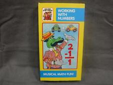 VHS Tape Golden Book Step Ahead Video Working With Numbers Musical Math Fun