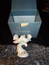 Giuseppe Armani Figurine Doves on Heart Rare Rare Hard To Find