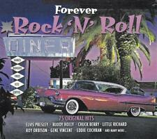FOREVER ROCK 'N' ROLL - 75 ORIGINAL HITS - VARIOUS ARTISTS (NEW SEALED 3CD)
