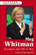 Meg Whitman: President and CEO of eBay (Ferguson Career Biographies)