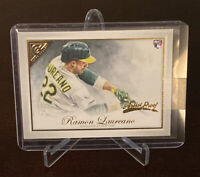Ramon Laureano 2019 Topps Gallery Artist Proof Rookie Oakland Athletics SP RC